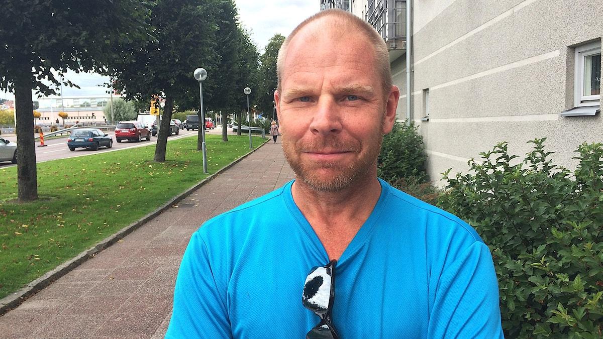 Classe Gustafsson. Foto: Max Lindahl/Sveriges Radio.