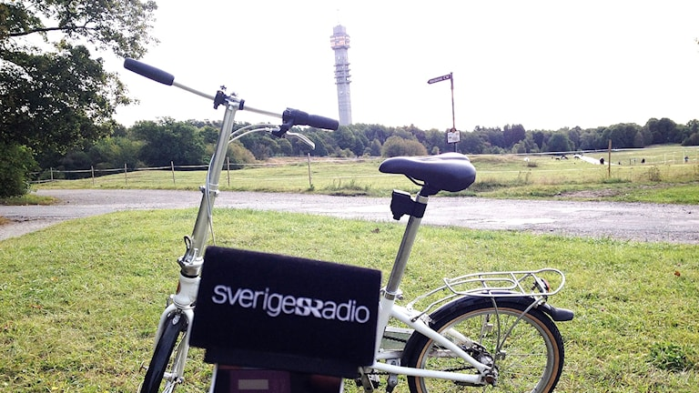 En cykel på Gärdet i Stockholm. Foto: Marcus Gorne/Sveriges Radio.