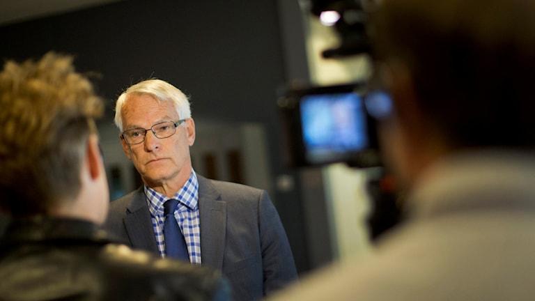 Claes Östlund, advokat. Foto: Björn Larsson Rosvall/TT.