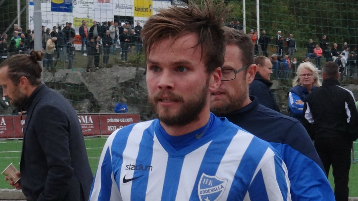 IFK Uddevallas Daniel Wilhelmsson i närbild