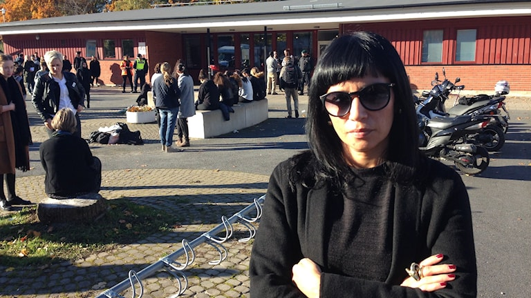 Rossana Dinamarca. Foto: Max Lindahl/Sveriges Radio
