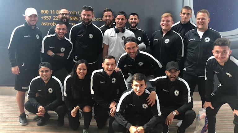IFK uddevalla på cyperns flygplats