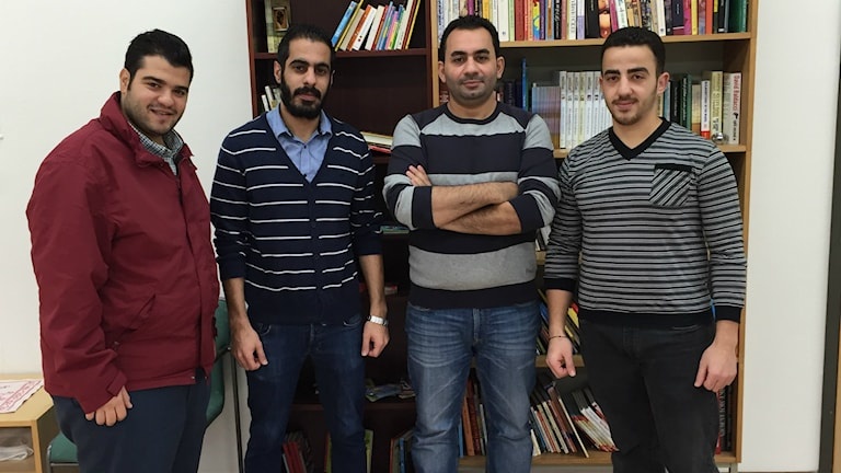 Omar Damman, Abdullah Kekhia, Adnan Abdulghani, Khlil al-Bash