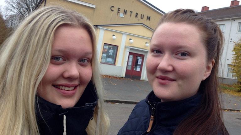 Kajsa-Stina Henriksson och Pernilla Swan