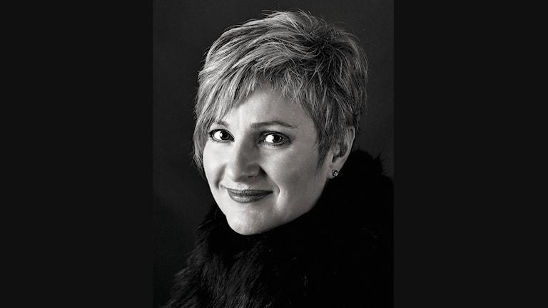 Porträtt av Gitta-Maria Sjöberg. Foto: Søren Kaas Claesson