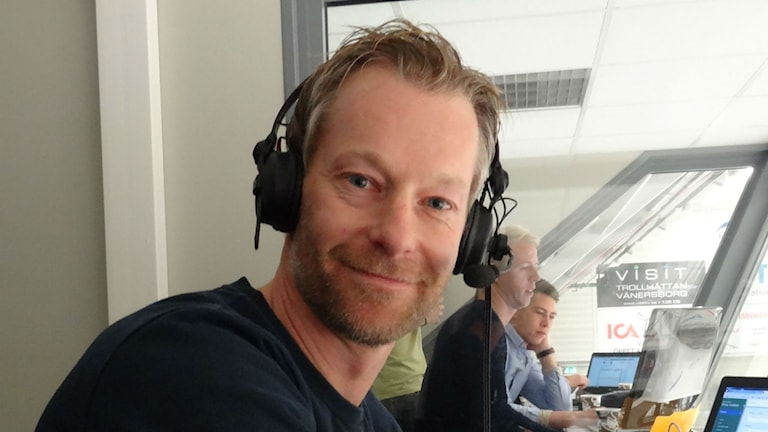 Joachim Berglund P4 Västs bandyexpert. Foto: Bengt Israelsson/Sveriges Radio