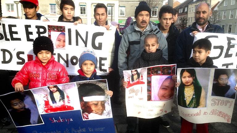 Flera barn dödades i en terroristattack i södra Afghanistan i måndags. Foto Jörgen Winjkler Sveriges Radio