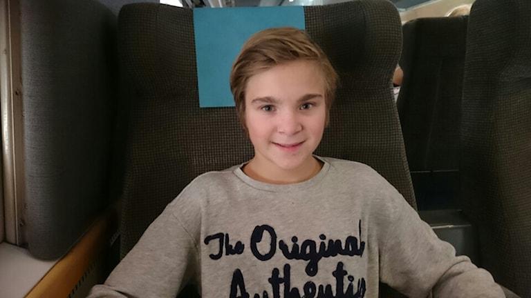 Alexander Nordgren, ung kille från Munkedal är med i en ny film