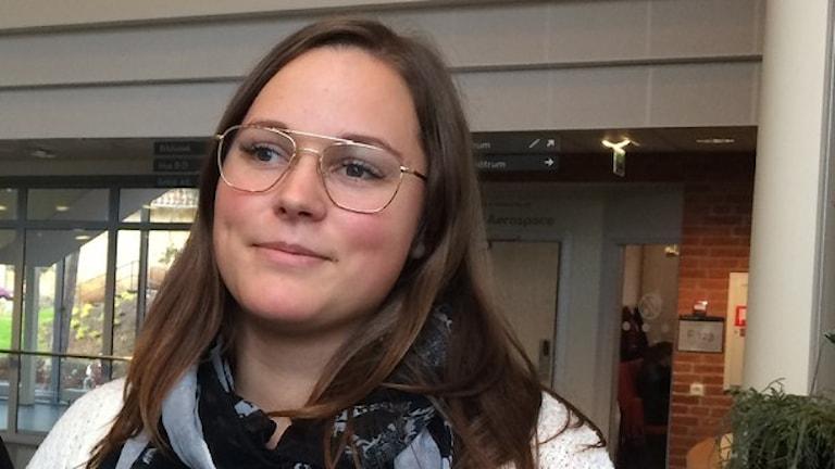 Johanna Savik. Foto: Skoob Salihi/Sveriges Radio.