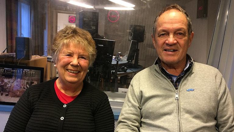 Ulla och Per-Erik Korström. Foto: Skoob Salihi/Sveriges Radio.