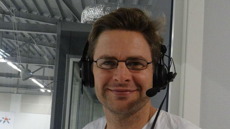 Bandy Viktor Weiselius P4 Västs bandyexpert Foto:  Bengt Israelsson/Sveriges Radio