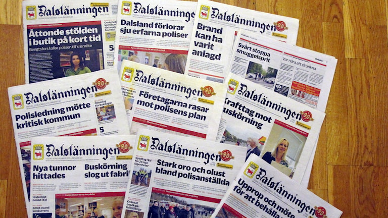 Artiklar om polisen i Bengtsfors