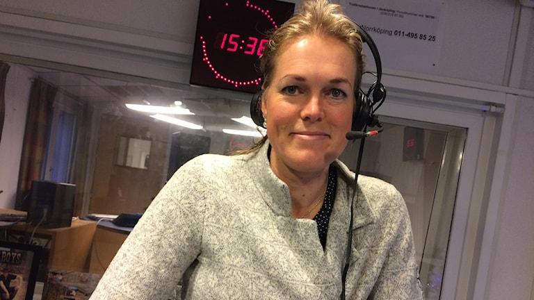 Anna Lönn. Foto: Skoob Salihi/Sveriges Radio.