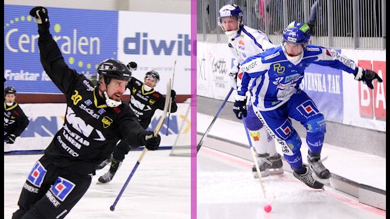 Gripen Trollhättan möter IFK Vänersborg. Foto: Elliot Ohlén/Sveriges Radio