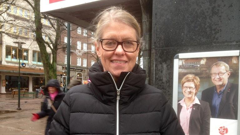 Maud Bengtsson, (S), ordförande Kunskapsförbundet Väst. Foto: Elisabeth Cederblad/Sveriges Radio.