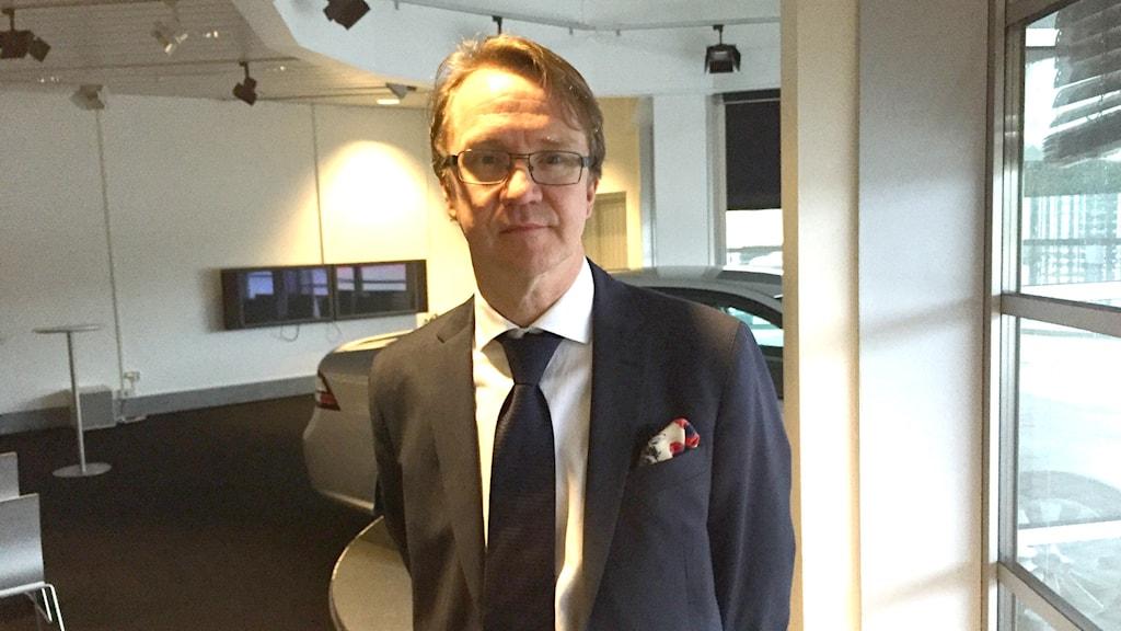 Mattias Bergman vd Nevs. Foto: Victor Jensen/Sveriges Radio.