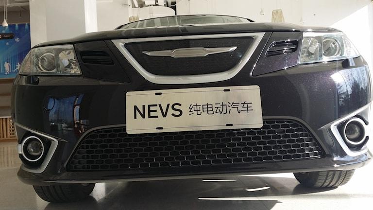 Nevs första elbil i Kina