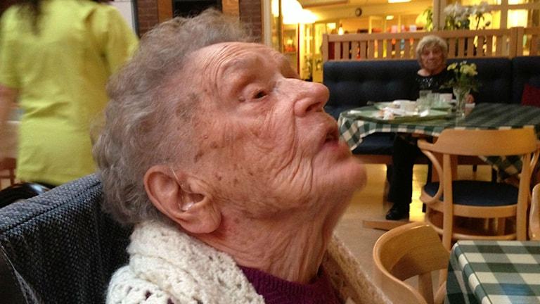 Bild på Alice östlund, 109 år
