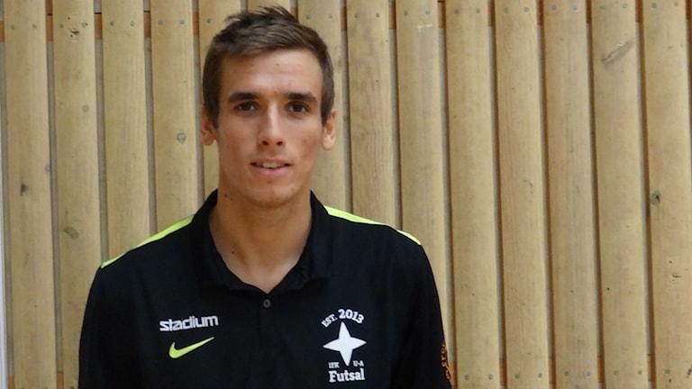 Futsal IFK Uddevalla Fredrik Söderqvist närbild