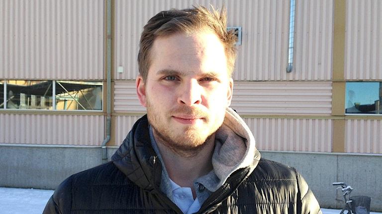 Christoffer Hermansson. Foto: Joel Hansson/Sveriges Radio.