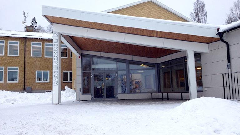 Karolinerskolan i Dals Rostock. Foto: Margaretha Valdemarsdotter/Sveriges Radio