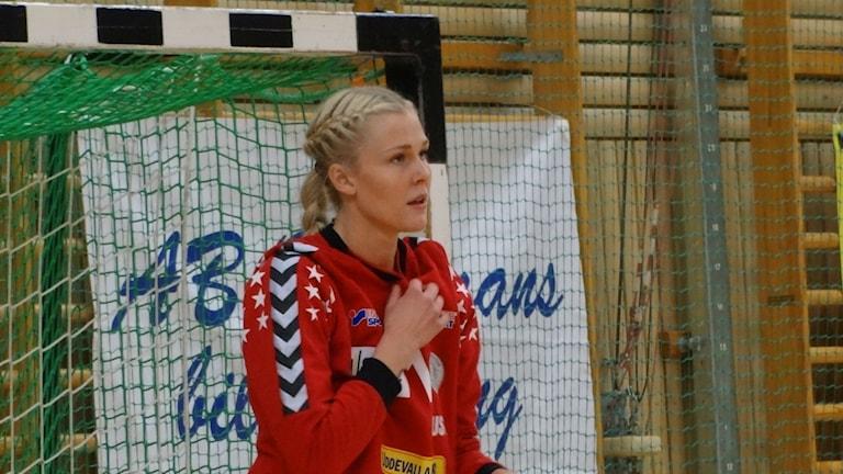 Handboll Kroppskultur Sofie Börjesson målvakt