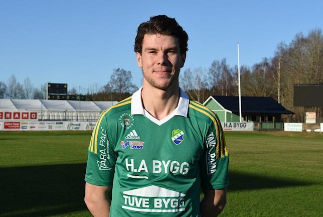 Mattias Pedersén från Göteborg kommer att spela för LSK den kommande säsongen. Foto: Michael Norrby
