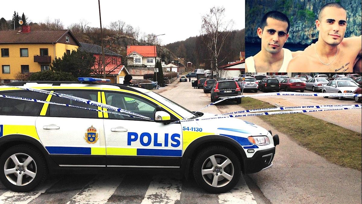 Mark Saliba och Martin Saliba döms för trippelmordet i Uddevalla. Foto: Sveriges Radio/Privat.