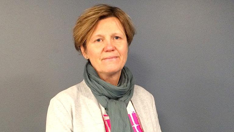 Inga-Lill Sundhage. Foto: Susanna Wictorzon/Sveriges Radio.