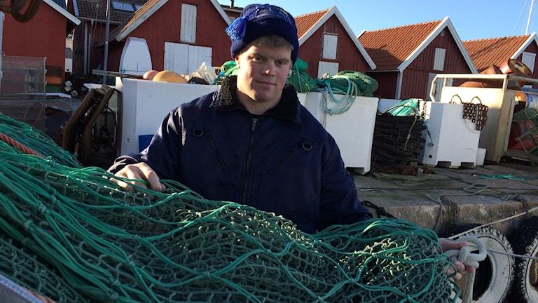 Simon Brorsson, yrkesfiskare.