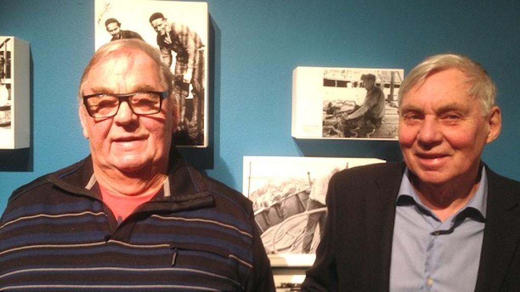 Arne Stensholm och Tore Gustavsson
