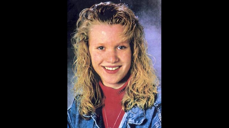 Malin Olsson, som mördades i Göteborg 1994.