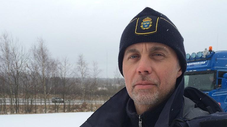 Kent-Owe Johansson, gruppchef för trafikpolisen i Värmland.