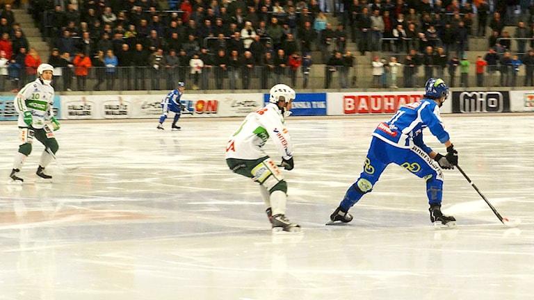 Bandy IFK Vänersborg-Västerås Foto: Bengt Israelsson/Sveriges Radio
