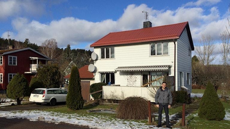 Mahmoud Alhamwi och hans nya hem