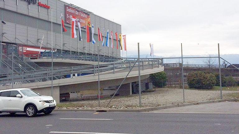 Bilmässan i Genève.