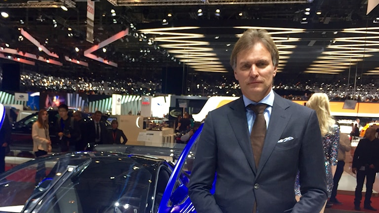 Eric Geers Qoros bilmässa Geneve