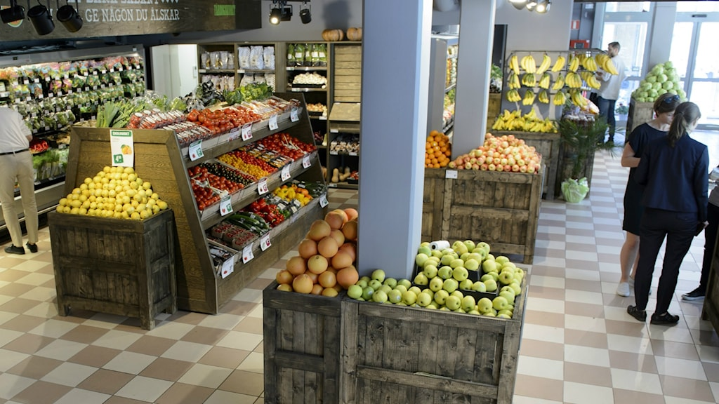 Frukt och grönsaker ekologisk mat