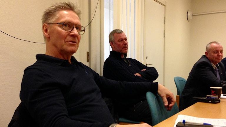 Riksdagsmannen Jan Olof Larsson poängterade allvaret för Lysekilsbanans framtid