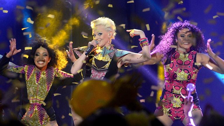saraha i Melodifestivalen 2016.