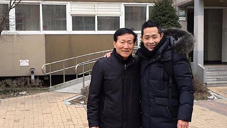 Lars hittade sin biologiska pappa i Sydkorea.