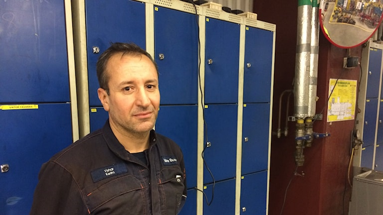 Wshiar Karim behöver fler svetsarkollegor på Volvo bussar i Uddevalla.