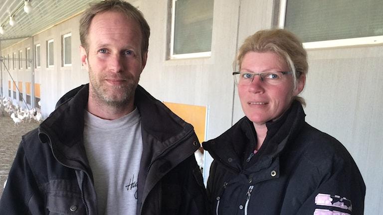 Marianne och Christer Siverhav äggproducent Lysekil