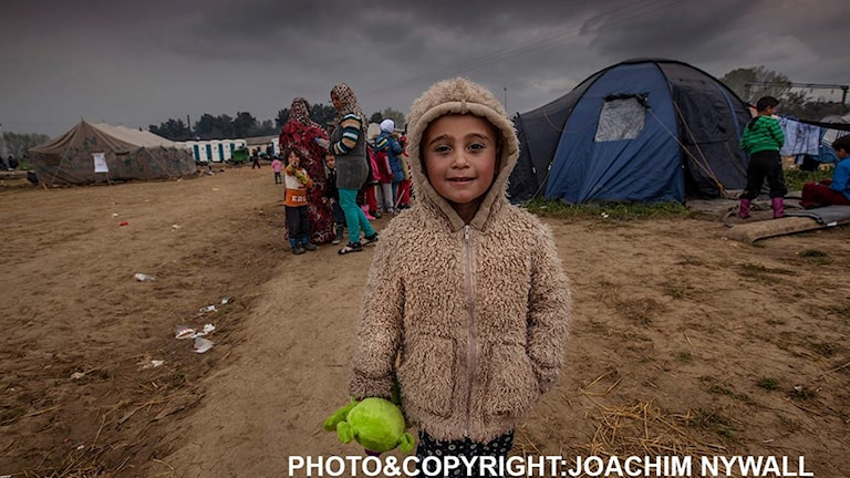 Flykting Joachim Nywall Grekland