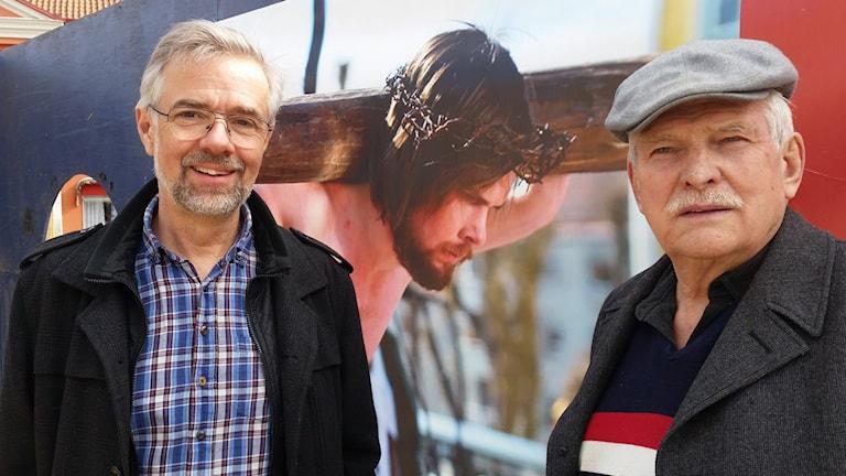 Passionspelen Uddevalla Kurt Olsson Janne Säv