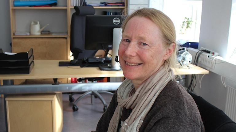Maja Berg, psykolog BUP i NU-sjukvården, Foto: Elisabeth Cederblad/P4 Väst