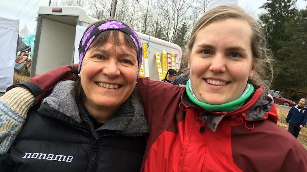 Deltagare i orientering i norra Bohuslän inför VM