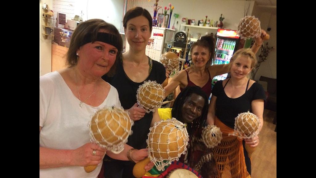västafrikansk dans- och trumworkshop