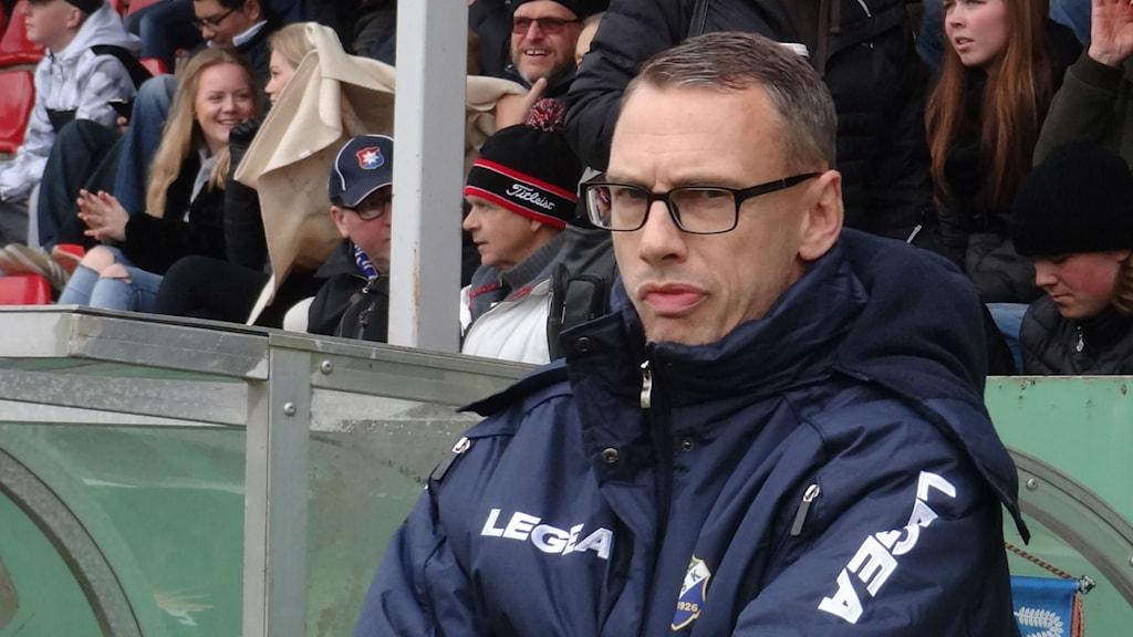 Fotboll Ljungskiles tränare Jonas Olsson
