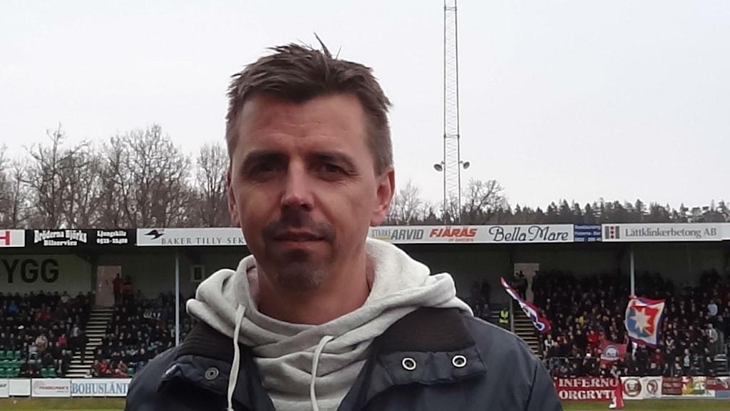 Stefan Vennberg P4 Västs fotbollsexpert